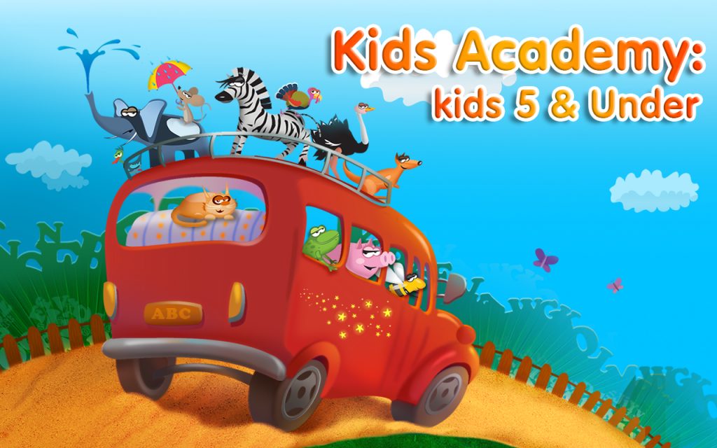 Kids educational games make learning fun
