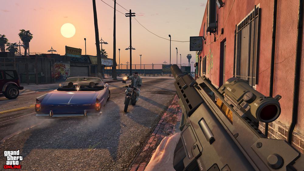 Grand Theft Auto V videogame