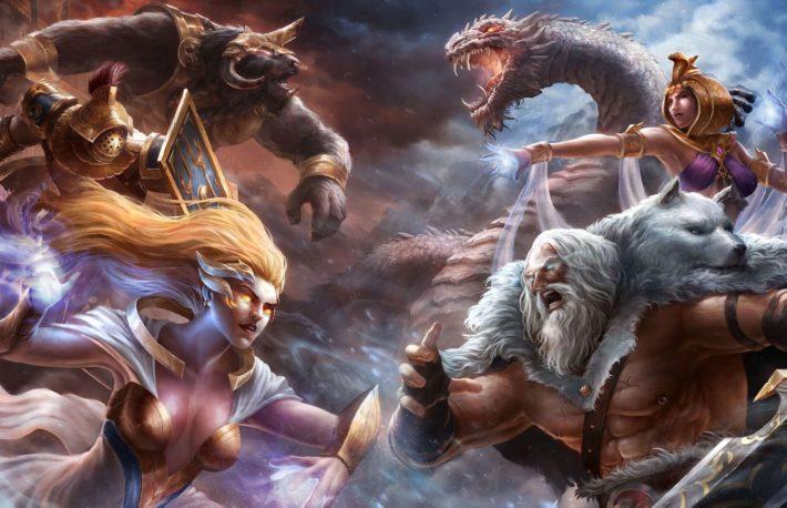 Gods Unchained blockchain videogames
