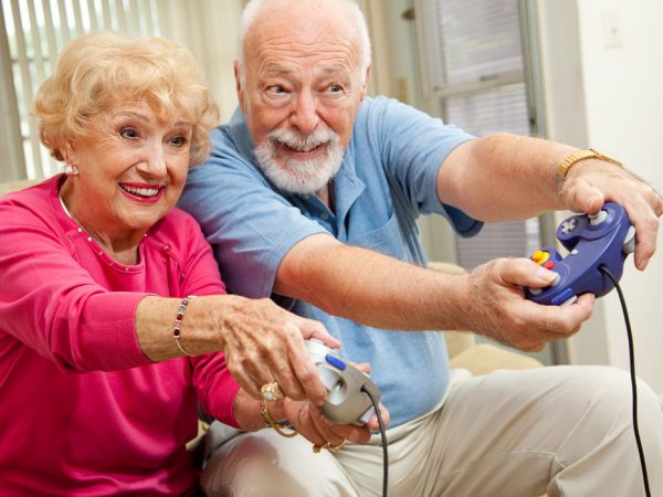 The Benefits of Video Games for Seniors