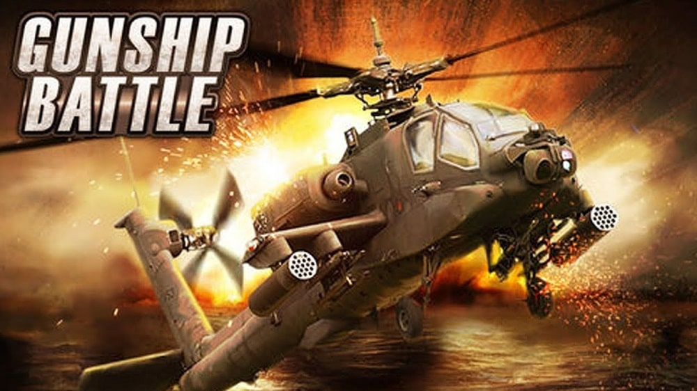 Gunship Battle - a helicopter 3D Android game best android 2d games